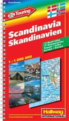 Skandinávia atlasz - Hallwag
