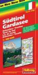 Dél-Tirol és a Garda-tó autótérkép - Hallwag