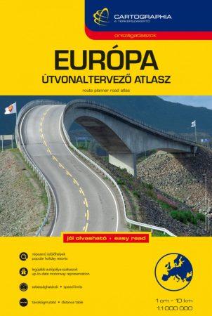 Európa autóatlasz - Cartographia