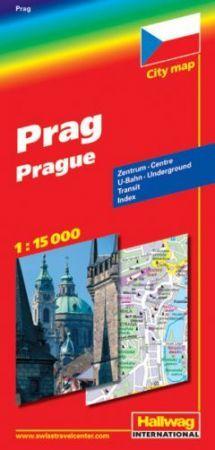 Prága térkép - Hallwag
