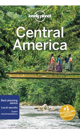 Közép-Amerika, angol nyelvű útikönyv - Lonely Planet