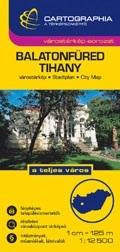 Balatonfüred és Tihany várostérkép - Cartographia