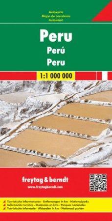Peru autótérkép - Freytag-Berndt