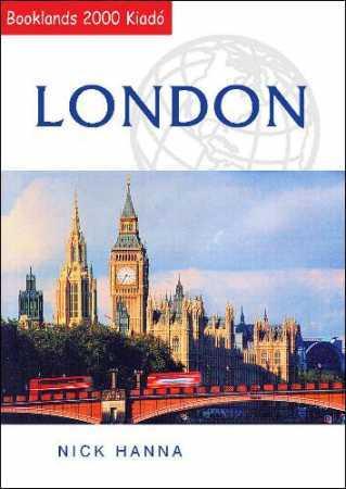 London útikönyv - Booklands 2000
