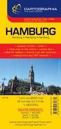 Hamburg várostérkép - Cartographia