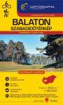 Lake Balaton, leisure map - Cartographia