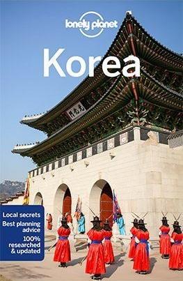 Korea, angol nyelvű útikönyv - Lonely Planet