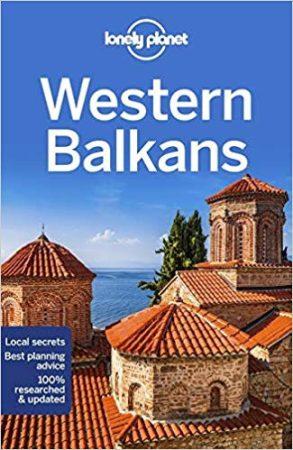 Nyugat-Balkán, angol nyelvű útikönyv - Lonely Planet