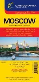 Moszkva várostérkép - Cartographia