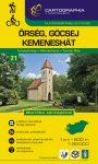 Őrség, Göcsej turistatérkép - Cartographia