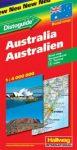 Ausztrália autótérkép - Hallwag