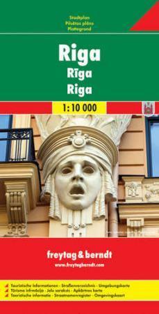 Riga várostérkép - Freytag-Berndt