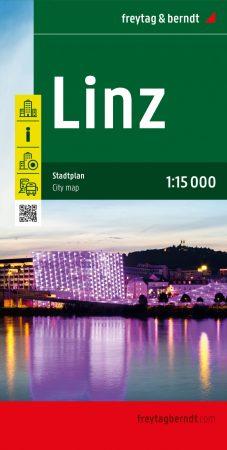 Linz várostérkép - Freytag-Berndt