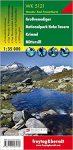 Großvenediger, Nationalpark Hohe Tauern, Krimml, Mittersill turistatérkép (WK 5121) - Freytag-Berndt