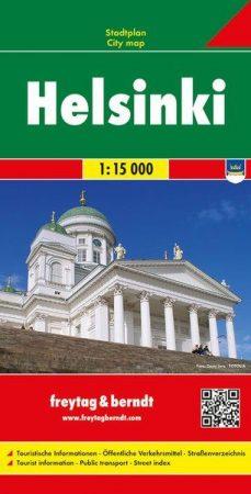 Helsinki várostérkép - Freytag-Berndt