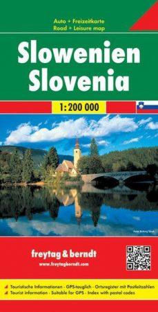 Slovenia, road map - Freytag-Berndt