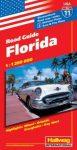 Florida autótérkép - Hallwag