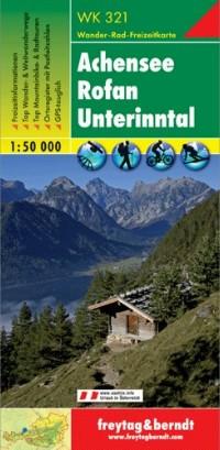 Achensee, Rofan, Unterinntal turistatérkép (WK 321) - Freytag-Berndt