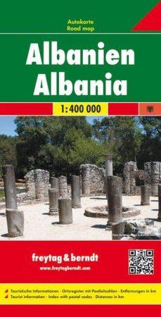 Albánia autótérkép (1: 400 000) - Freytag-Berndt