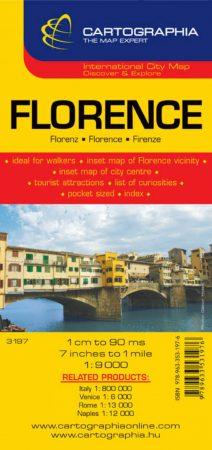 Firenze várostérkép - Cartographia