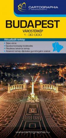 Budapest Extra térkép - Cartographia