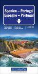 Spanyolország és Portugália autótérkép - Hallwag