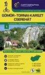 Gömör-Tornai-karszt, Cserehát turistatérkép - Cartographia