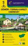 Gömör-Torna Karst Region & Cserehát, hiking map - Cartographia