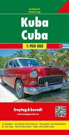 Kuba autótérkép - Freytag-Berndt