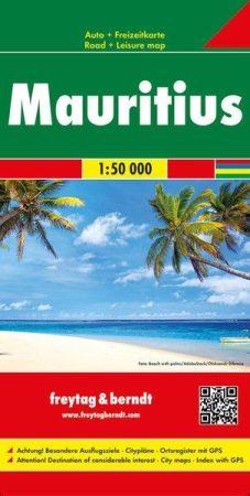 Mauritius, Réunion, Rodrigues autótérkép - Freytag-Berndt