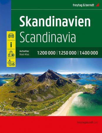 Skandinávia autóatlasz - Freytag-Berndt