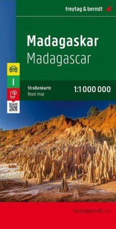 Madagascar, travel map - Freytag-Berndt
