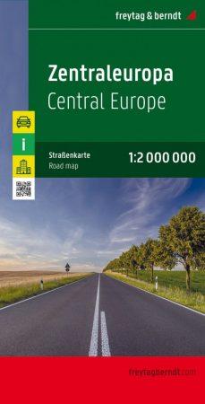 Central Europe, travel map - Freytag-Berndt