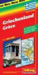 Görögország autótérkép - Hallwag