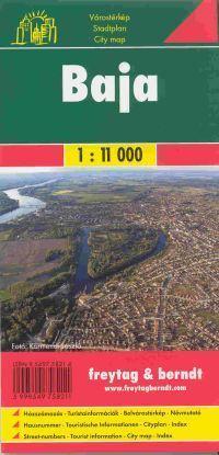Baja várostérkép - Freytag-Berndt