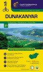 Danube Bend, hiking map - Cartographia