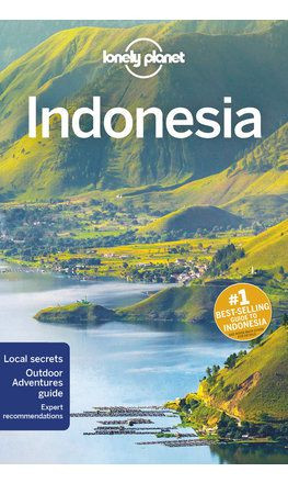Indonesia, guidebook in English - Lonely Planet