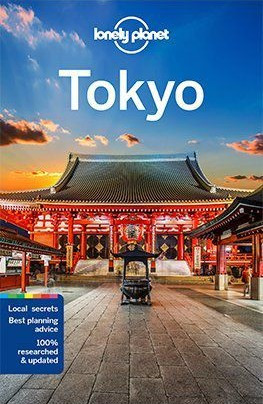 Tokyo, guidebook in English - Lonely Planet