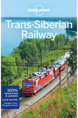Transzszibériai vasút, angol nyelvű útikönyv - Lonely Planet