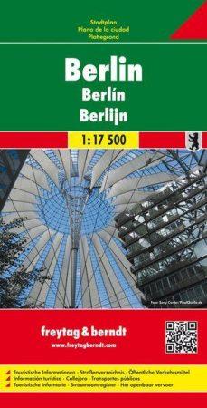 Berlin várostérkép - Freytag-Berndt