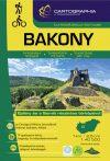 Bakony, hiking atlas - Cartographia