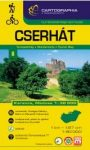 Cserhát, hiking map - Cartographia