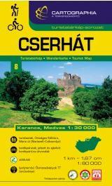 Cserhát turistatérkép - Cartographia