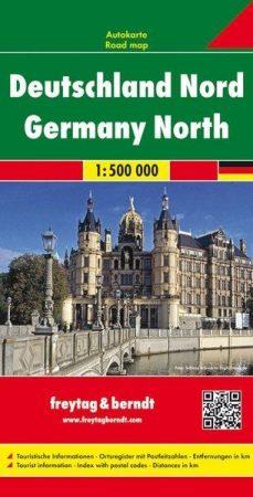 Németország (észak) autótérkép - Freytag-Berndt