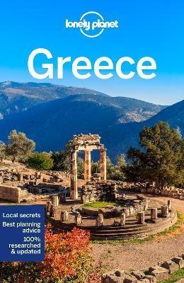Görögország, angol nyelvű útikönyv - Lonely Planet