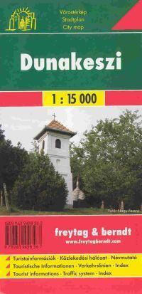 Dunakeszi várostérkép - Freytag-Berndt