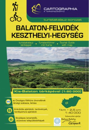 Balaton-felvidék turistaatlasz - Cartographia