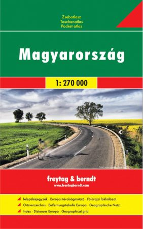 Hungary, pocket atlas - Freytag-Berndt
