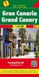 Gran Canaria autótérkép - Freytag-Berndt