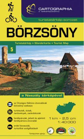 Börzsöny turistatérkép - Cartographia